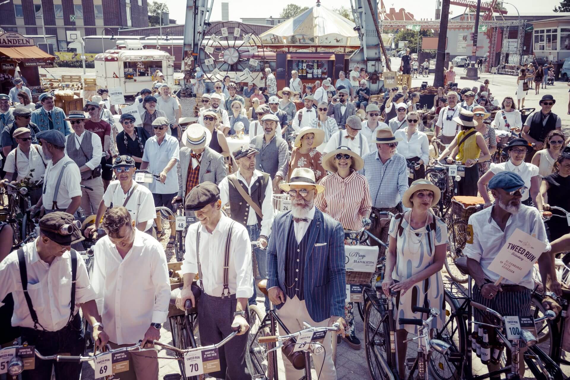 Tweed Run 2018 Oldenburg