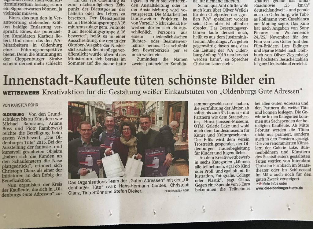 Die Oldenburger Tüte NWZ