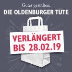 Die Oldenburger Tüte Einsendeschluss verlängert bis zum 28.02.19