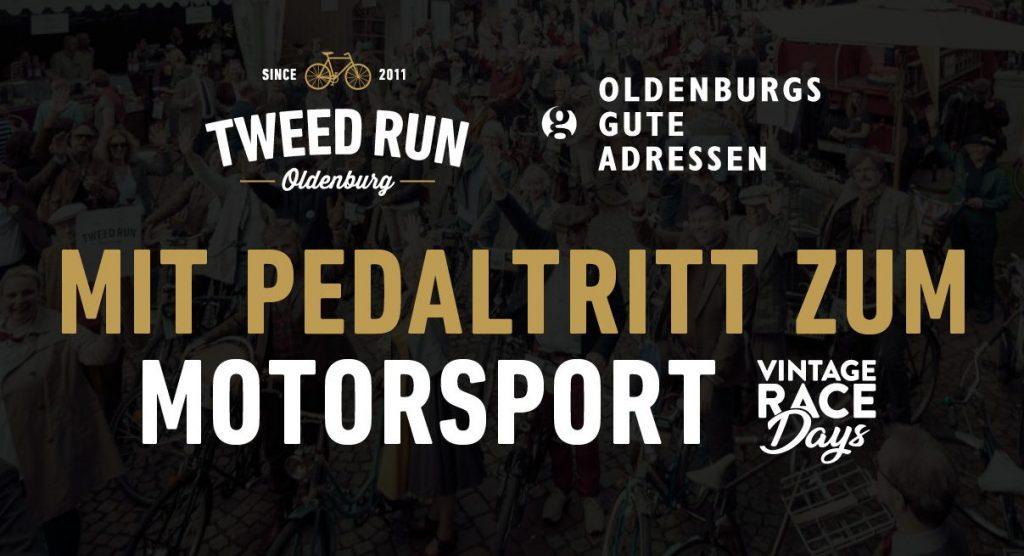 Tweed Run Oldenburg – Mit Pedaltritt zum Motorsport – Vintage Race Days