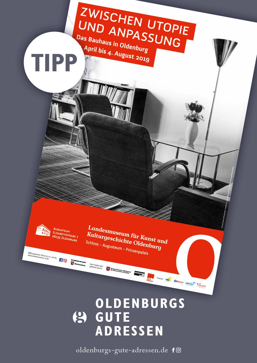 Bauhaus Ausstellung Tipp Oldenburgs Gute Adressen