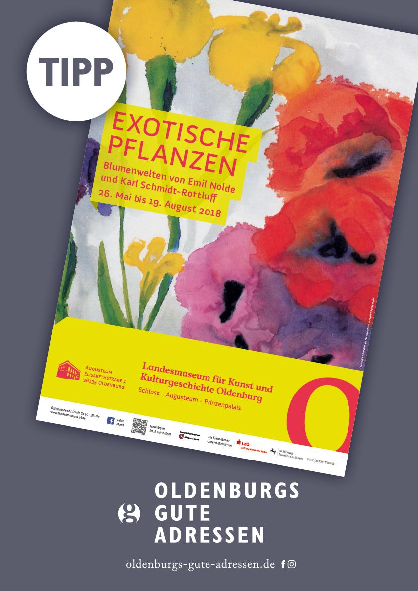 Emil Nolde Tipp Oldenburgs Gute Adressen