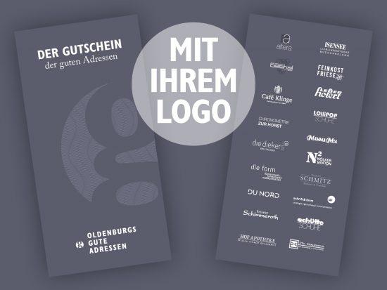 Geschenkgutschein mit Ihrem Logo