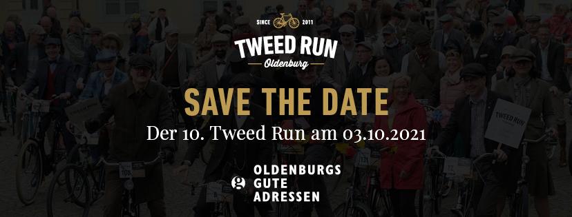Save the Date - Der 10. Tweed Run am 03.10.2021